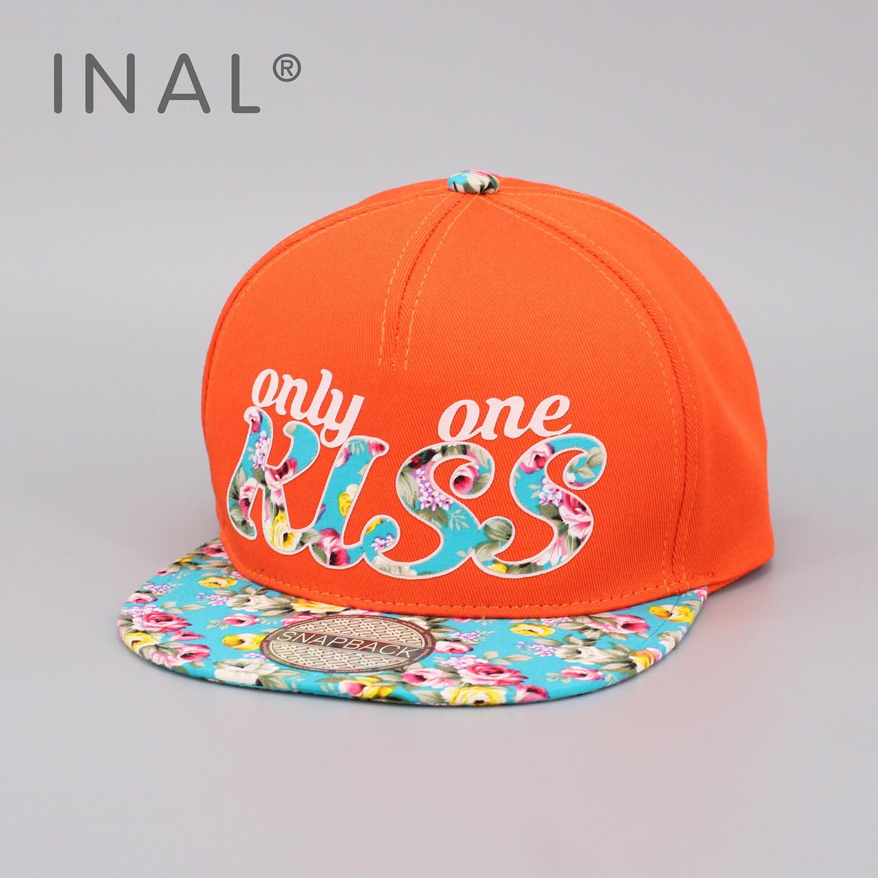 Кепка бейсболка INAL Kiss M / 55-56 RU Оранжевый 46255