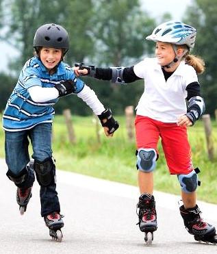 Ролики, самокаты, скейты, коньки, защита