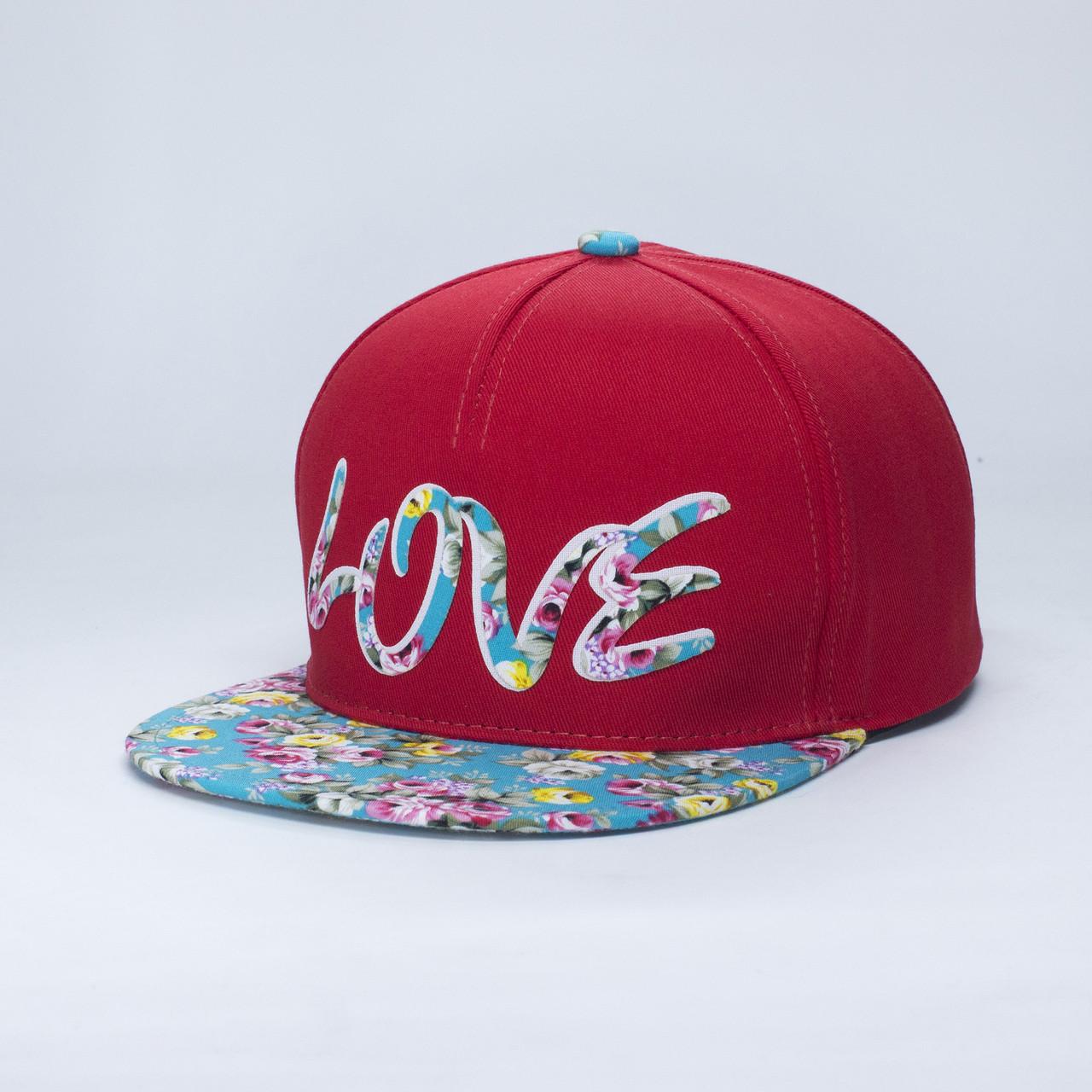 Кепка бейсболка INAL LOVE M / 55-56 RU Красный 47955