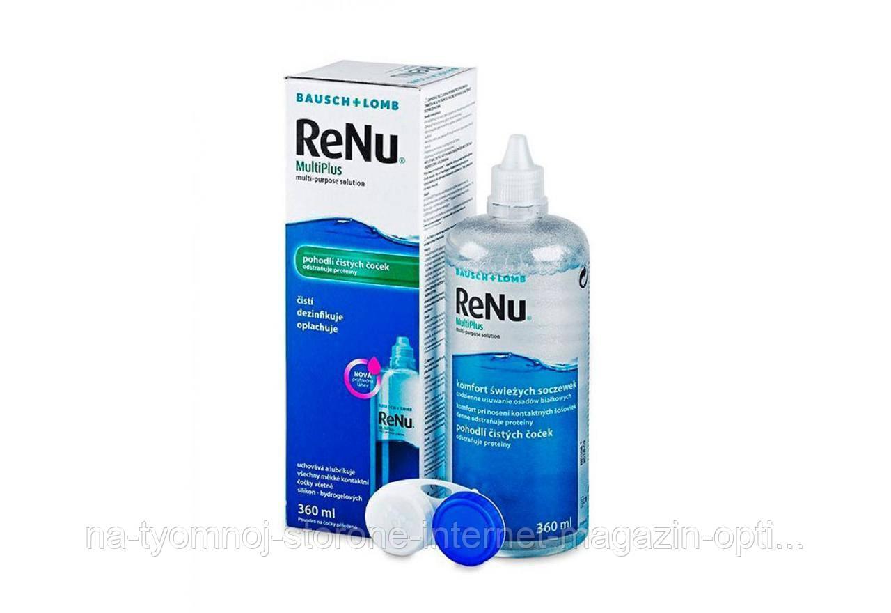 Раствор для контактных линз ReNu MultiPlus 120 ml