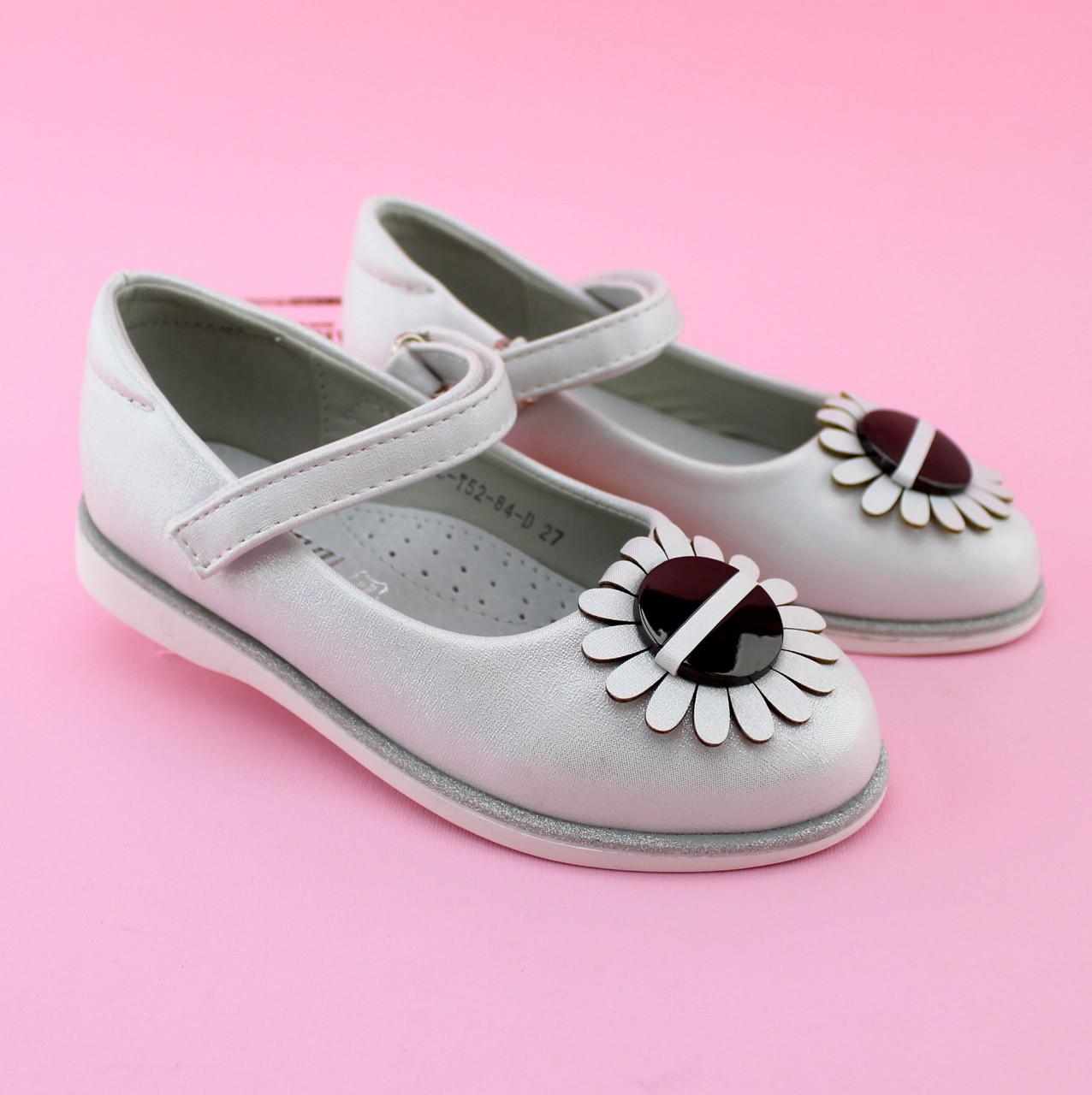 Детские нарядные туфли Белые тм Том.м размер 25,31
