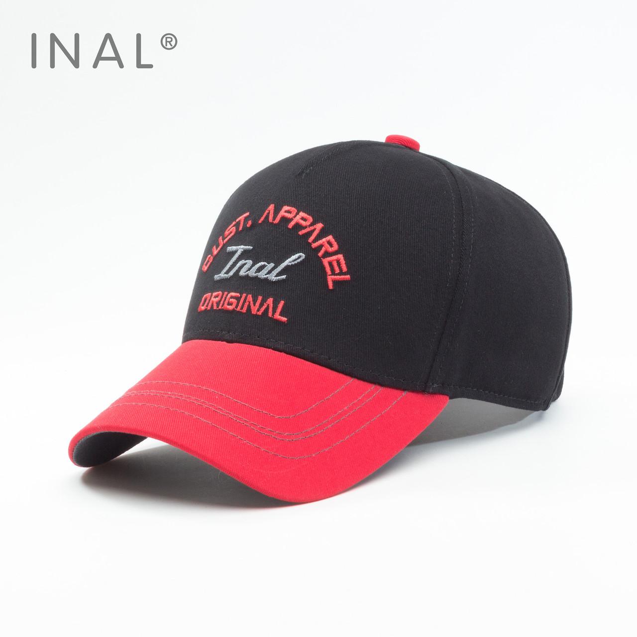 Кепка бейсболка INAL Original L / 57-58 RU Черный 150057