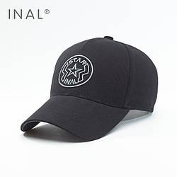 Кепка бейсболка INAL Star L / 57-58 RU Черный 151857