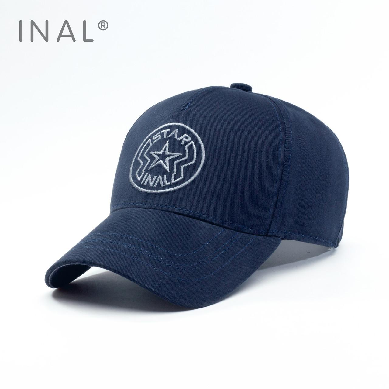 Кепка бейсболка INAL Star L / 57-58 RU Синий 152057