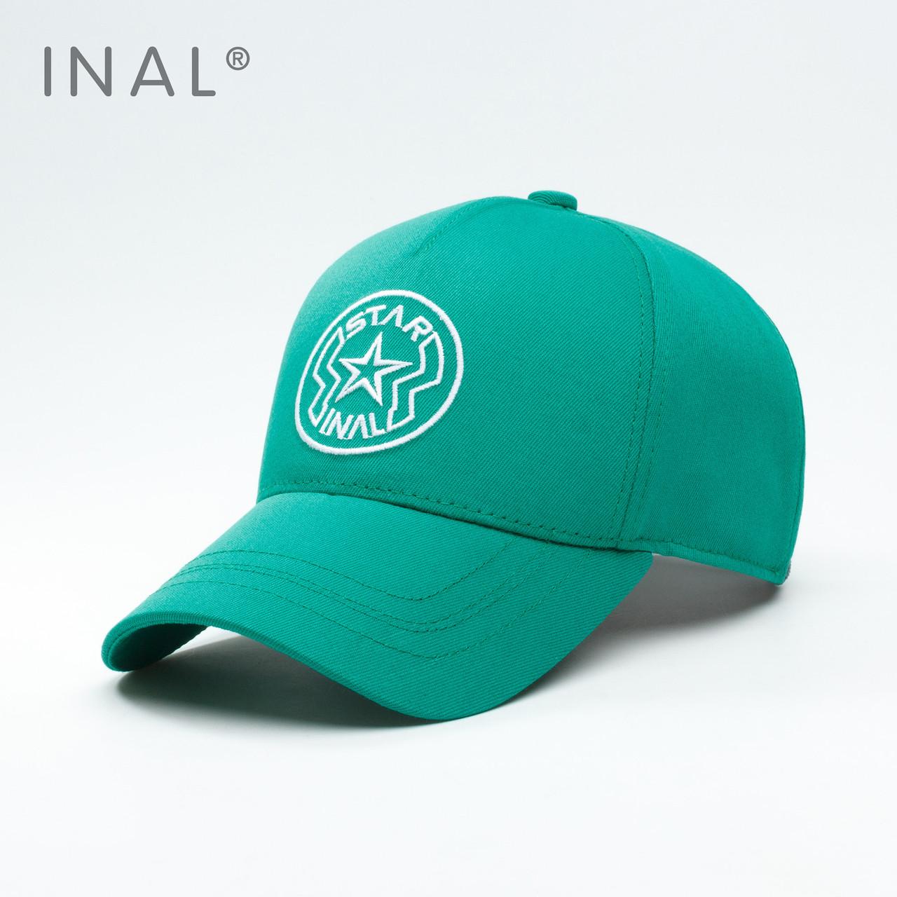 Кепка бейсболка INAL Star L / 57-58 RU Зеленый 154357