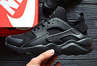 5a9ce5ca Кроссовки Nike Air Huarache Ultra Black. Живое фото. Топ качество! (Реплика  ААА
