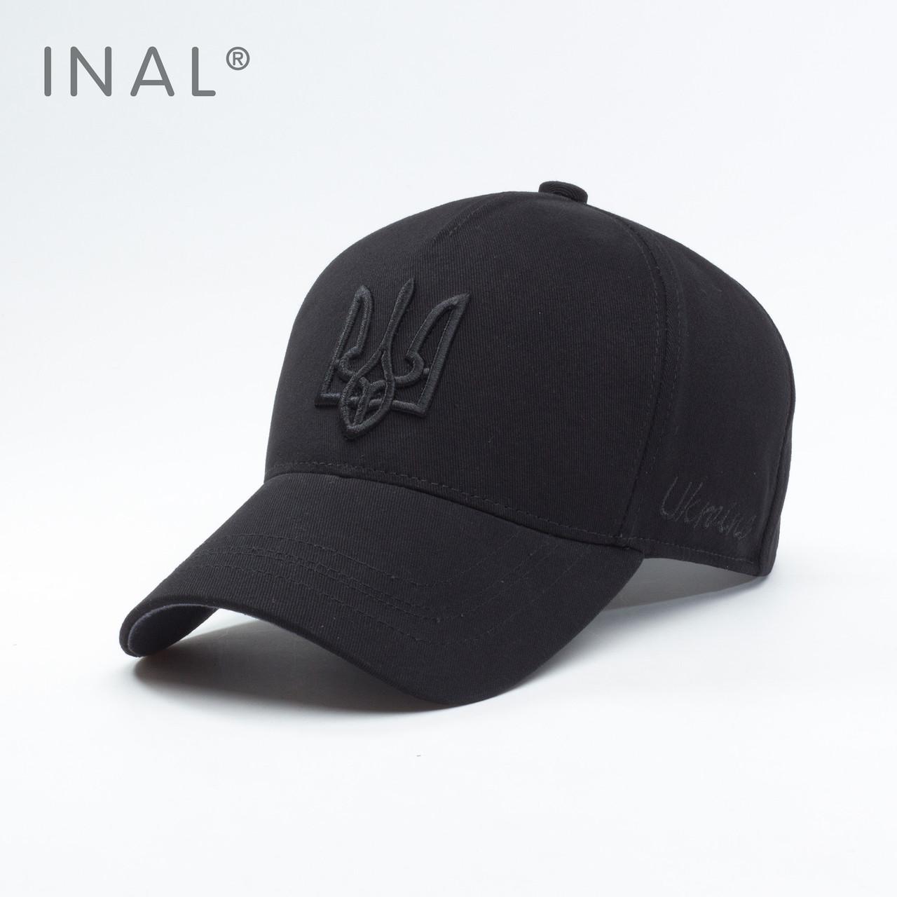 Кепка бейсболка, Ukraine, L / 57-58 RU, Хлопок, Черный, Inal