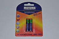 Аккумулятор МОТОМА 850 mAh NiMH 1.2 V AAA - R3