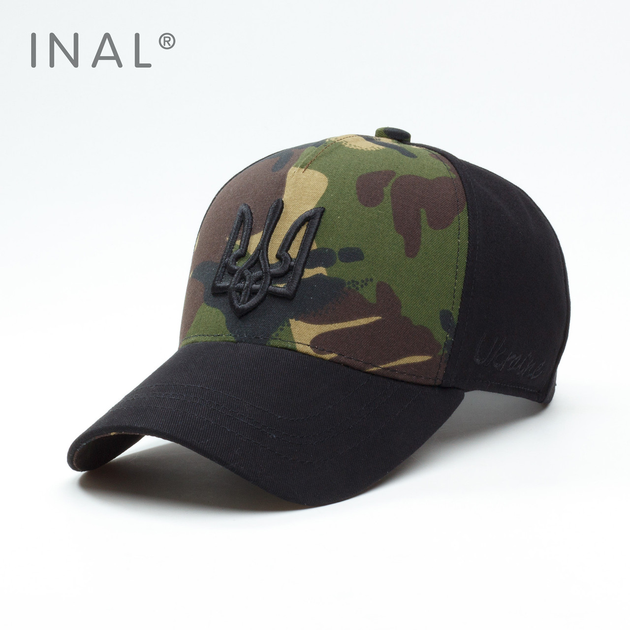 Кепка бейсболка INAL Ukraine UA L / 57-58 RU Хаки 187057