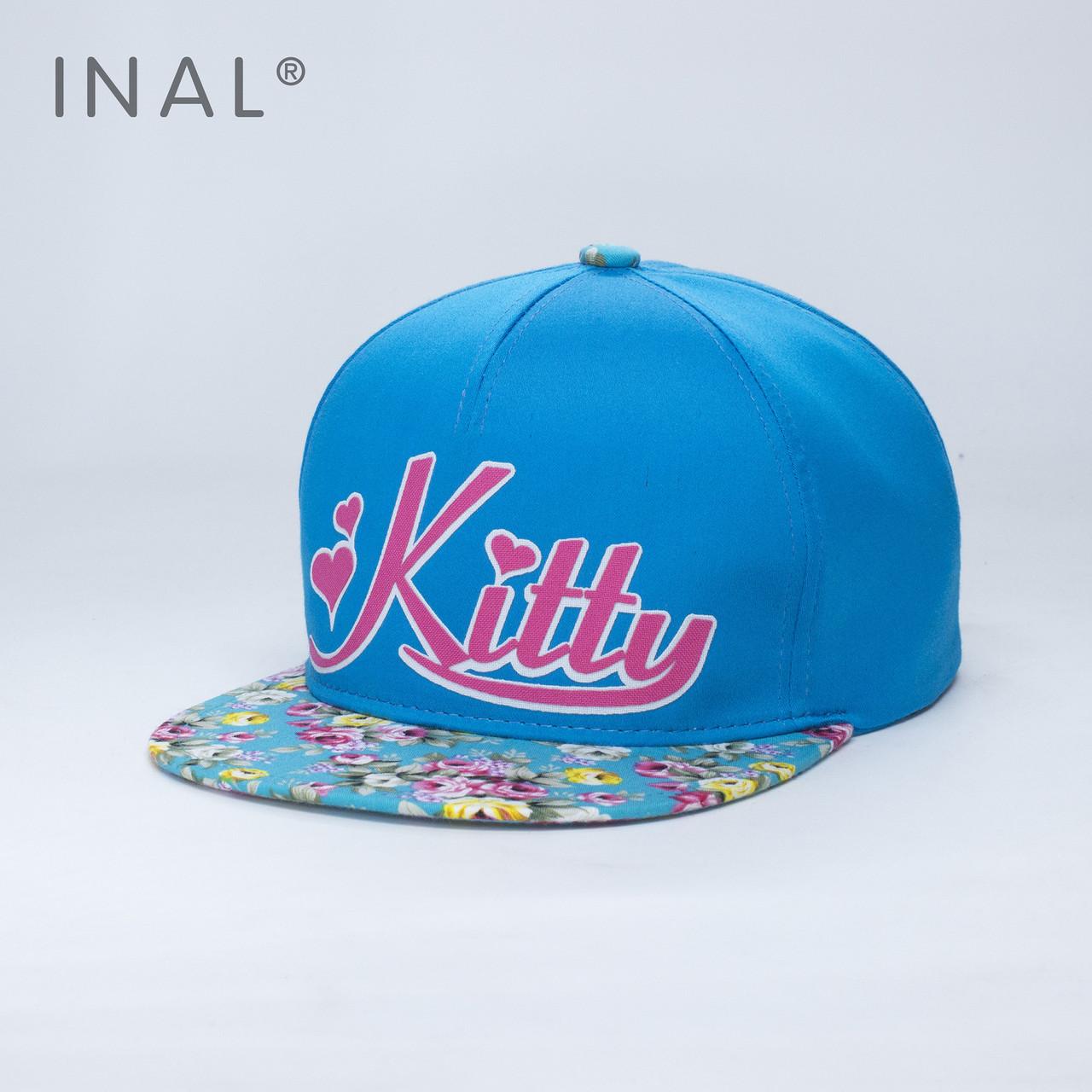 Кепка бейсболка INAL Kitty M / 55-56 RU Голубой 97755