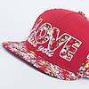 Кепка бейсболка INAL LOVE M / 55-56 RU Красный 176055, фото 4