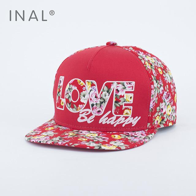 Кепка бейсболка INAL LOVE M / 55-56 RU Красный 176155