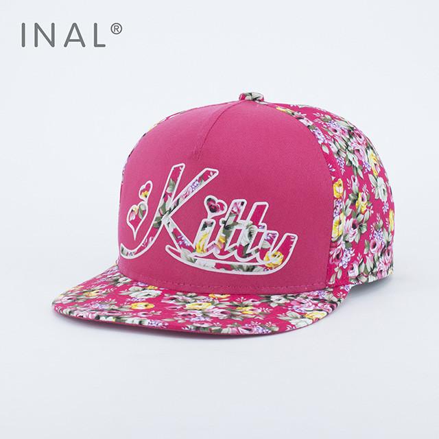 Кепка бейсболка INAL Kitty M / 55-56 RU Розовый 175955