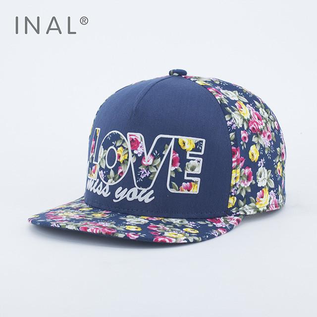 Кепка бейсболка INAL LOVE M / 55-56 RU Синий 175055