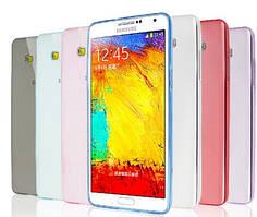 Силиконовый чехол для Samsung Galaxy A3 A300H супертонкий 0.3 мм