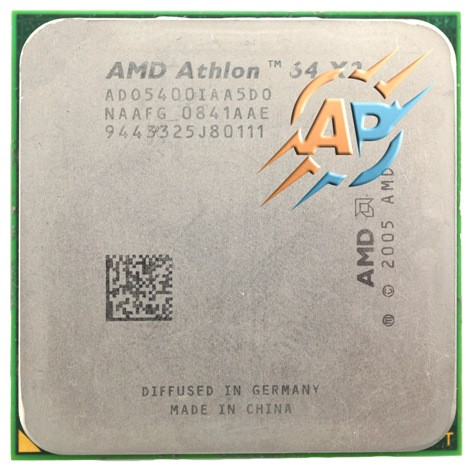 Процессор AMD Athlon 64 X2 5400+ (2800MHz, сокет AM2) ADO5400IAA5DO