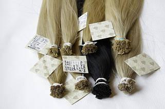 Славянские волосы для наращивания на капсулах премиум