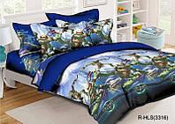 Комплект постельного белья для мальчиков Черепашки  Ниндзя, фото 1
