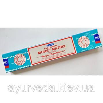 Ароматические палочки Nag Champa Money Matrix (15gm)