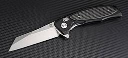 Нож Artisan Falcon SW, D2, Aluminium/CF