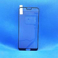 Защитное стекло для Huawei Honor 10 (COL-L29) Черное на весь экран