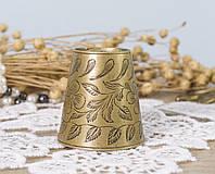 Гасник для тушения свечей, колпачок, латунь, Индия, фото 1