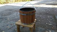 Запарник для веника дубовый 20 литров с пластиковой вставкой