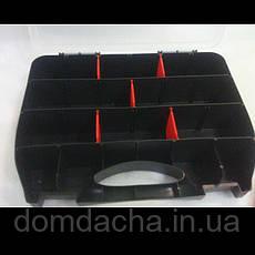 Кейс органайзер 325 х 260 х 25 мм пластиковый HAISSER Domino , фото 3