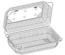 Контейнер для фруктов IT-356П