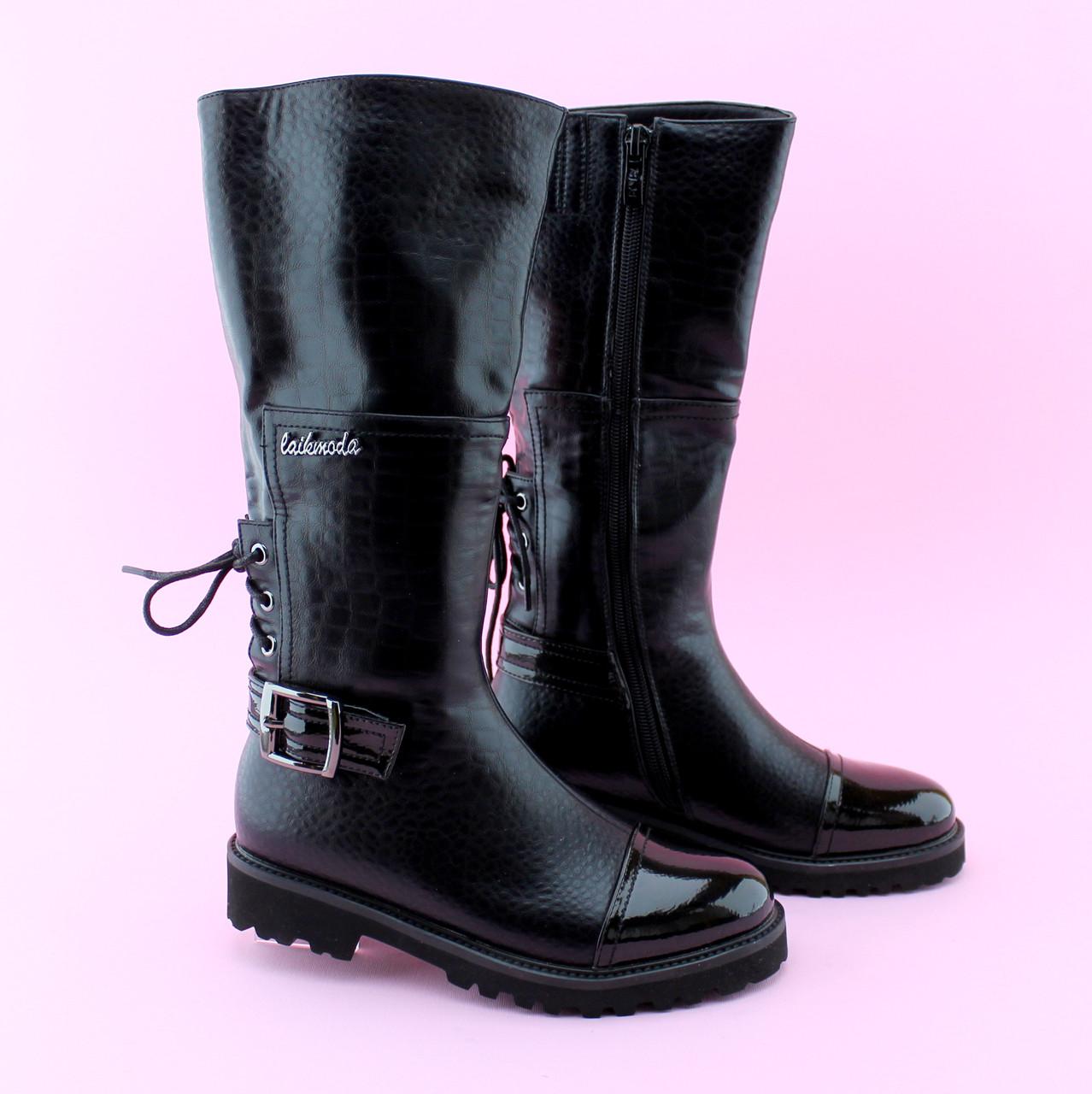 Дитячі підліткові демісезонні чоботи тм BIKI розмір 37,38