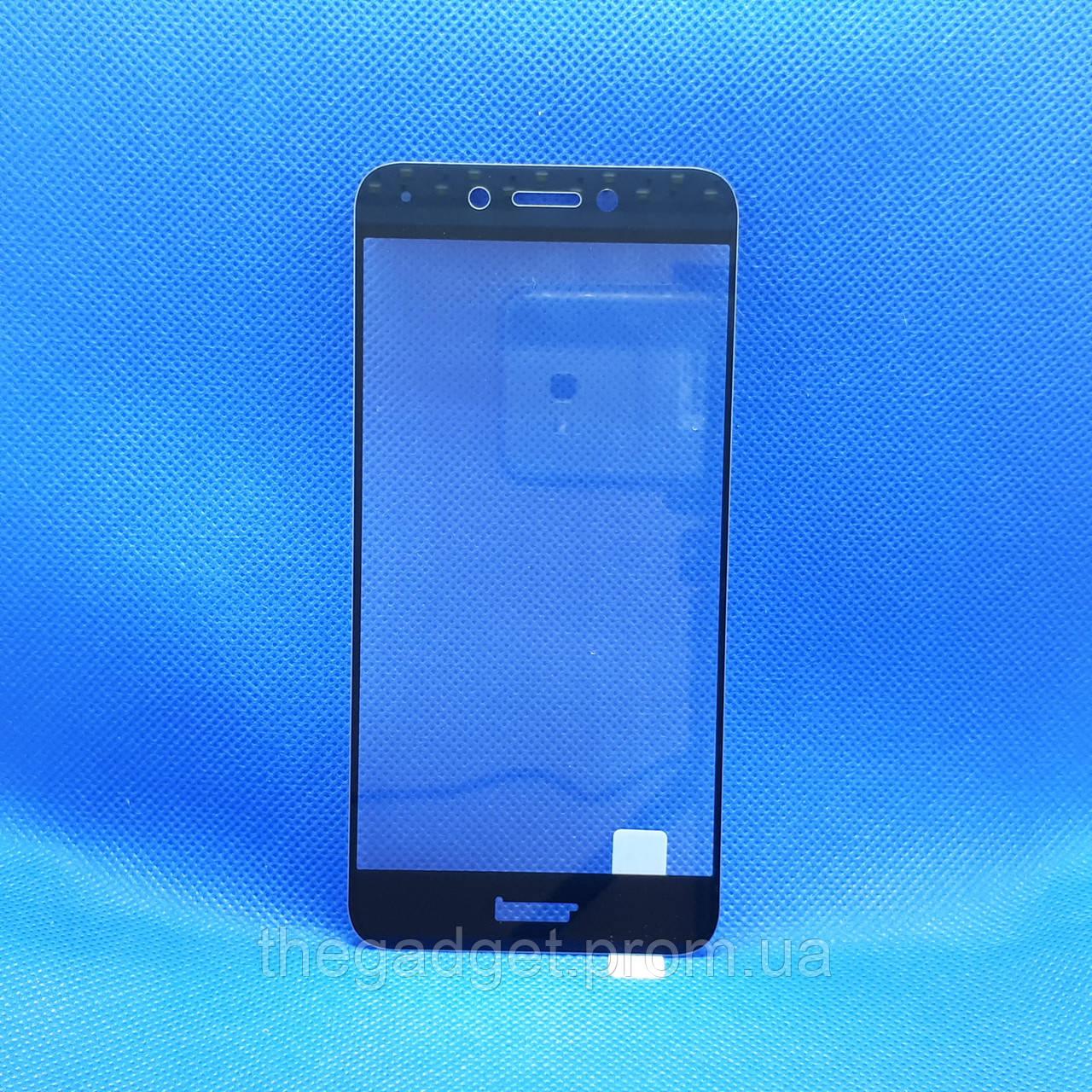 Защитное стекло для Huawei Honor 6a (DLI-TL20) Черное на весь экран