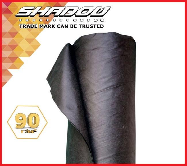 "Агроволокно UF-4% ""Shadow"" 90г/м², 1,07х 50 м. чёрное (Чехия)"