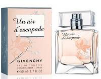 Женская туалетная вода Givenchy Un Air d'Escapade