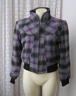 Куртка женская пальто короткое женское шерсть 7.Avenue р.48, фото 1