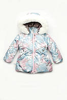 Куртка зимняя 'Снежинка' для девочки