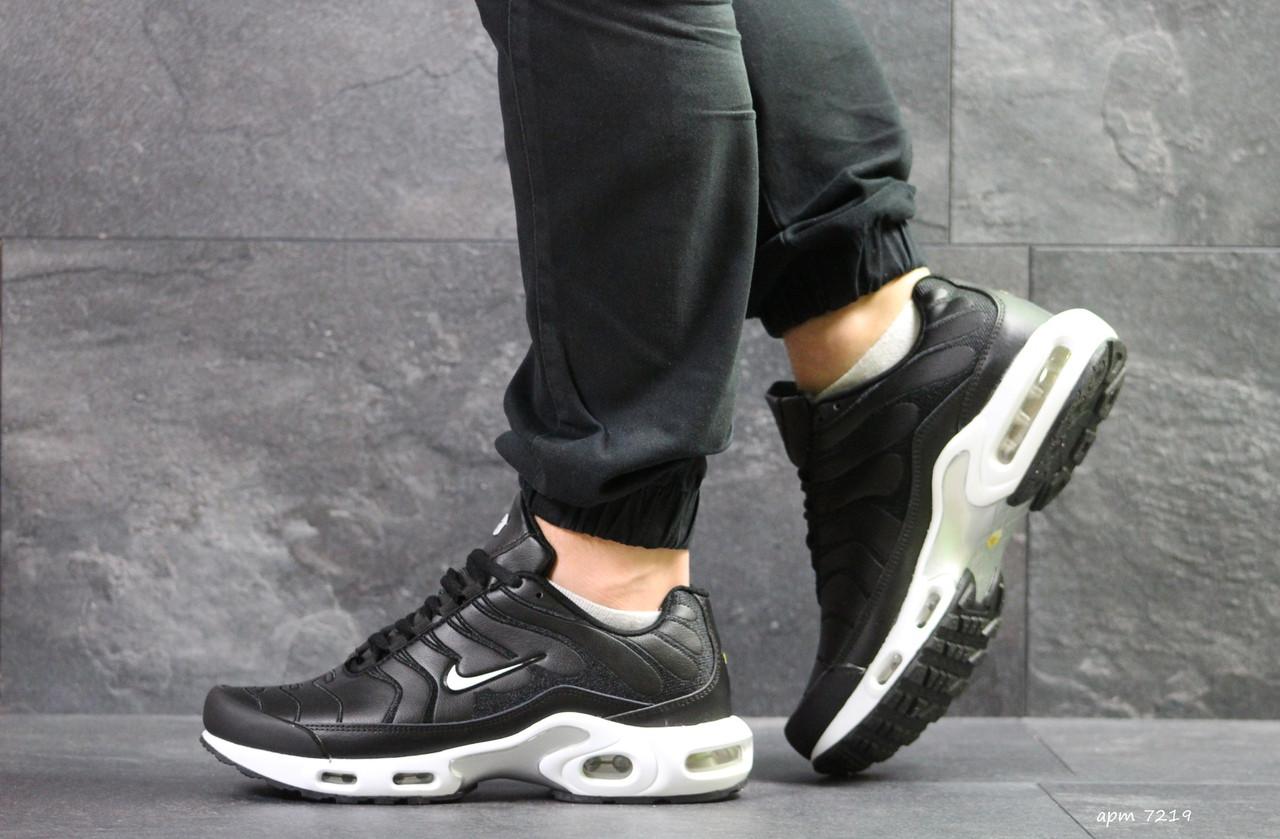 f4f2585a Кожаные мужские кроссовки Nike Air Max TN - найк / чоловічі кросівки (Топ  реплика ААА