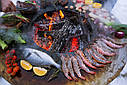 Круглый гриль мангал AHOS BIG BLACK, фото 10