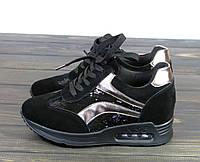 Черные кроссовки Lonza FLM16-2 BLACK 36 23 см, фото 1