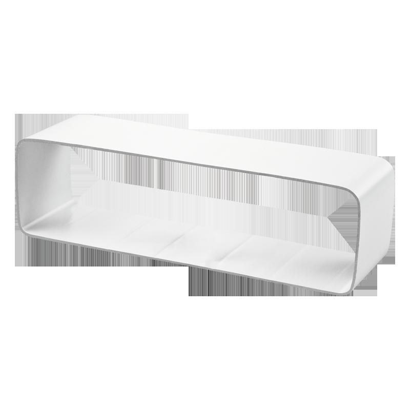 Соединитель  плоских гибких каналов 60*122