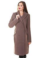 Женское пальто со стразами Дива