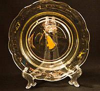 Старинная тарелка,миска! Стекло! Буковина!!!, фото 1