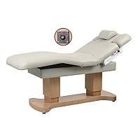 Стационарный массажный стол электрический с подогревом ZD-866HN