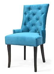 Дизайнерський, обідній стілець -Туер. Тканина, колір дерева -на вибір.