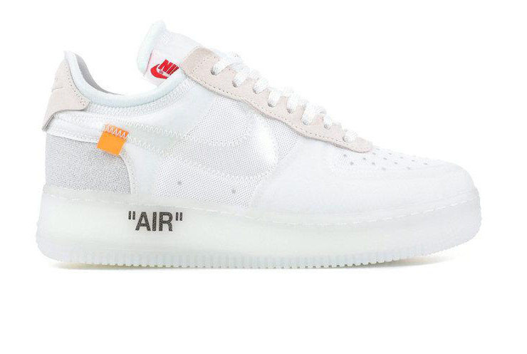 cc782e15 Кроссовки мужские Nike Off-White X Nike Air Force 1 Low White (Реплика ААА