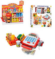 Набор супермаркет с кассовым аппаратом и продуктами 1664698