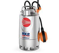 Погружной дренажный насос с корпусом из нержавеющей стали PEDROLLO RX-VORTEX RXm 5/40