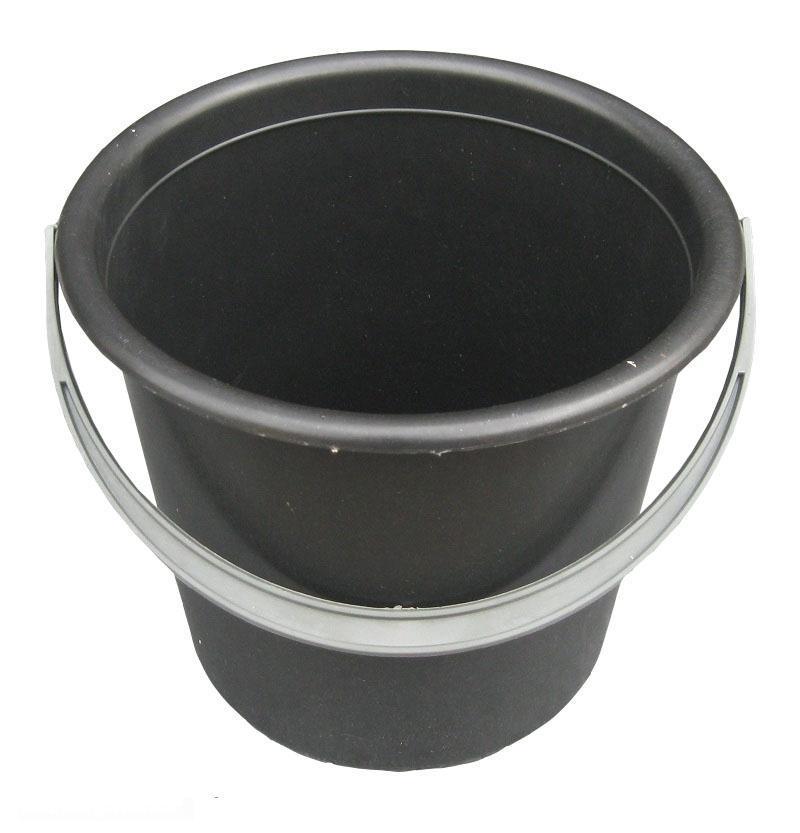 Ведро полиэтиленовое 10 литров чёрное