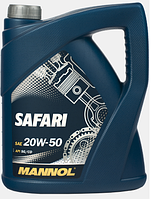 Моторное масло Mannol Safari 20W50 5L