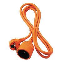 Подовжувач садовий з заземленням Strend Pro DG-YFB01, 1 розетка 10 м., переріз кабелю 3х1.5 мм.