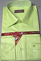 Детская салатовая рубашка с бабочкой BENDU (размеры 25.26.27.28.29.30.31)
